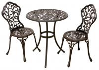 """Комплект мебели """"Лиана"""" Стол и два стула."""