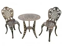 Комплект мебели «Лион с розами» Стол и два стула
