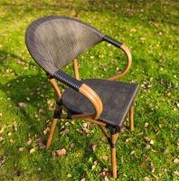 Кресло Поллукс с плетением.