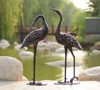 Садовая скульптура Цапли