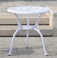Белый стол высокий Кружева