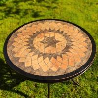 Стол Керамик Круглый диаметр 84,5см.