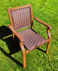 Кресло Трессе с плетением
