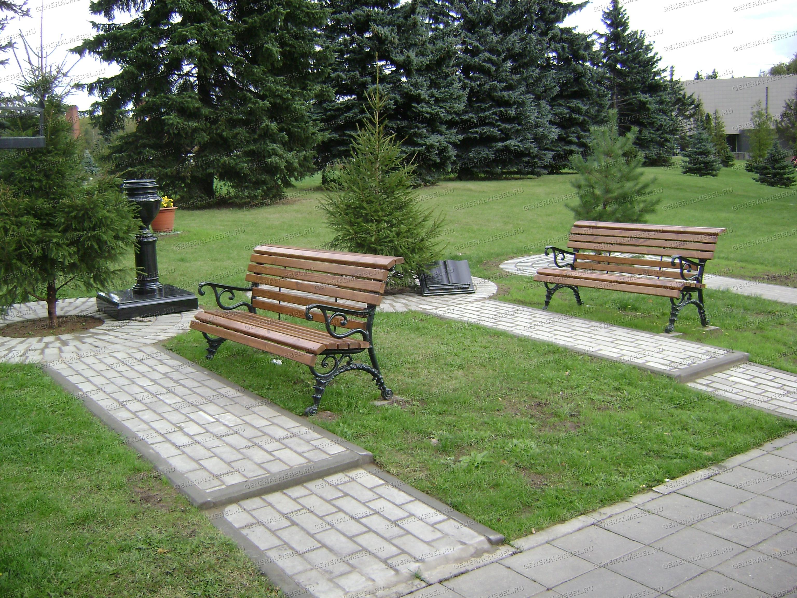 sadovaya lavka garmonia, скамейка на кладбище фото, купить садовую скамейку от производителя, чугунные скамейки недорого