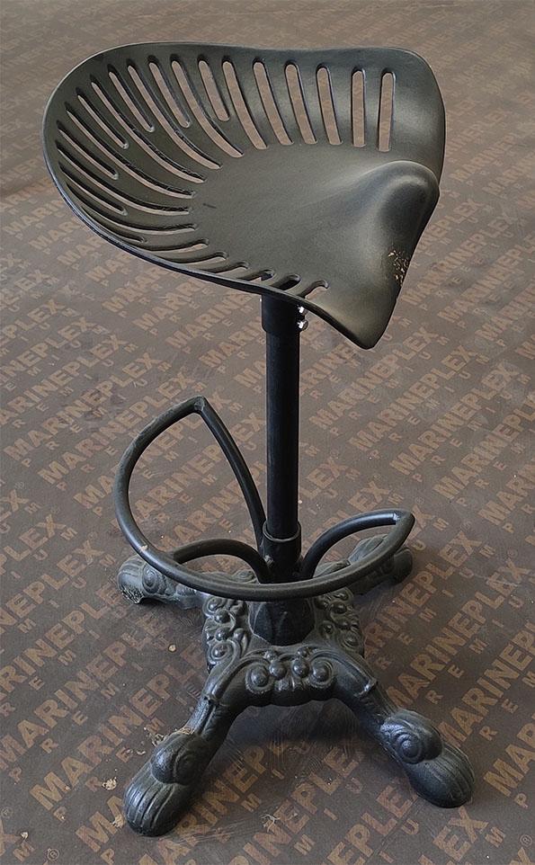 Табурет стимпанк для бара, высокий стул для кафе, кресло от старинного трактора для интерьера, мебель для кафе и баров
