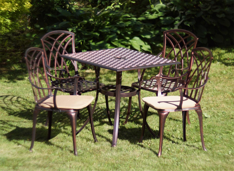 Мебель для сада из металла, литая мебель из чугуна и алюминия, кресла и столы уличные, мебель для улицы, столики для кафе бистро, столик и стул на балкон