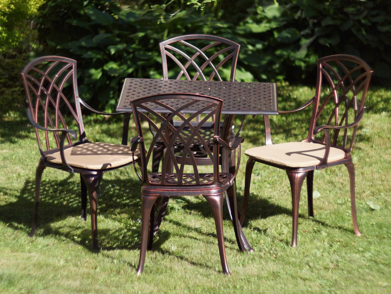 мебель литье алюминия и чугуна, металлическая мебель для сезонных кафе, столы и стулья для улицы, садовая мебель из металла, мебель на балкон и лоджию
