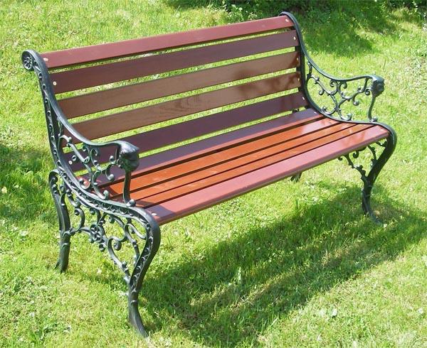 скамейка садовая, парковая скамейка