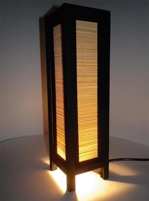 светильнок с плетением