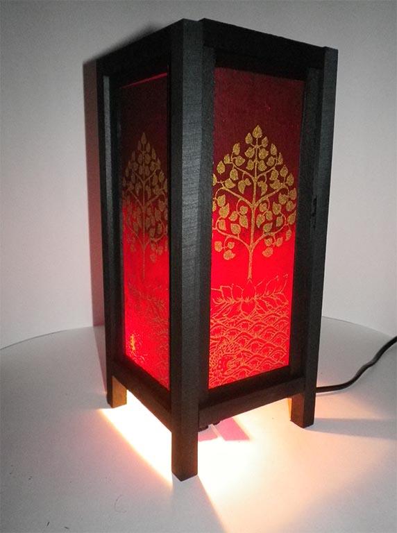 светильник дерево Будды